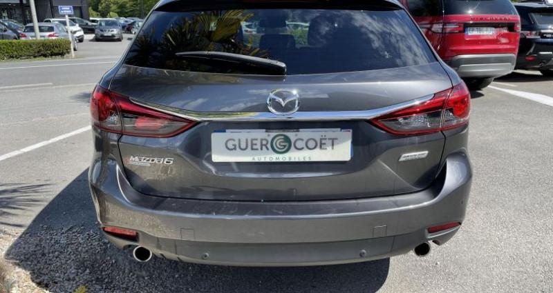 Mazda Mazda 6 FW 2.2 SKYACTIV-D 150 DYNAMIQUE BVA Gris occasion à GUER - photo n°4