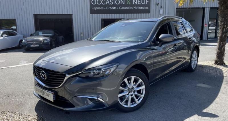 Mazda Mazda 6 FW 2.2 SKYACTIV-D 150 DYNAMIQUE BVA Gris occasion à GUER