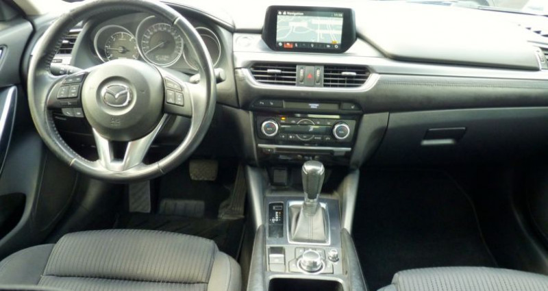Mazda Mazda 6 MAZDA6 2.2L Skyactiv-D 150ch Elegance BVA Bleu occasion à SAINT MAXIMUM - photo n°6