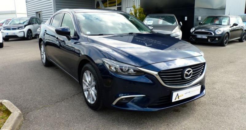 Mazda Mazda 6 MAZDA6 2.2L Skyactiv-D 150ch Elegance BVA Bleu occasion à SAINT MAXIMUM