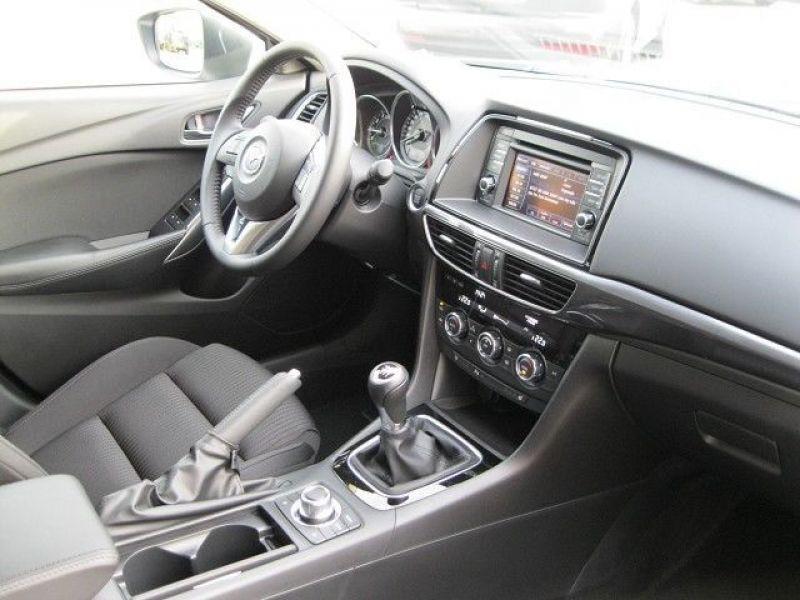Mazda Mazda 6 Wagon 2.0 SkyActiv-G 145 Noir occasion à Beaupuy - photo n°3
