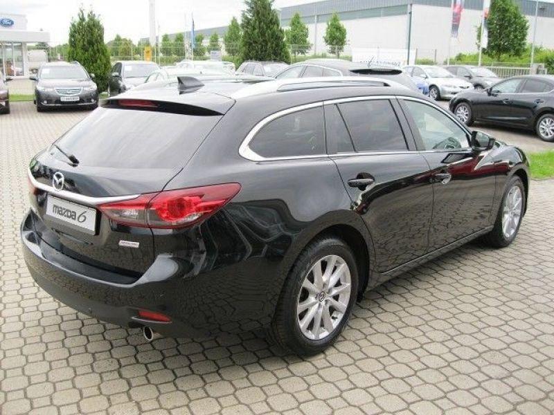 Mazda Mazda 6 Wagon 2.0 SkyActiv-G 145 Noir occasion à Beaupuy - photo n°2