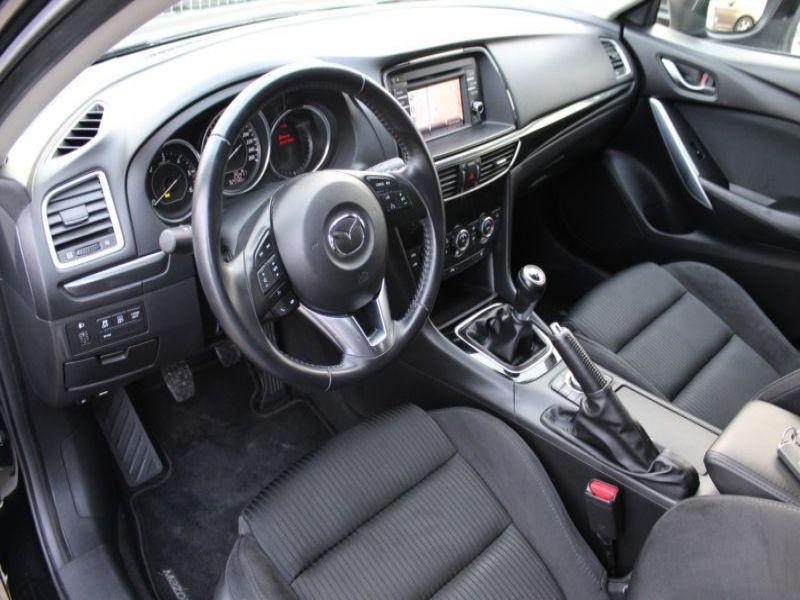 Mazda Mazda 6 Wagon 2.2 SkyActiv-D 150 Noir occasion à Beaupuy - photo n°3