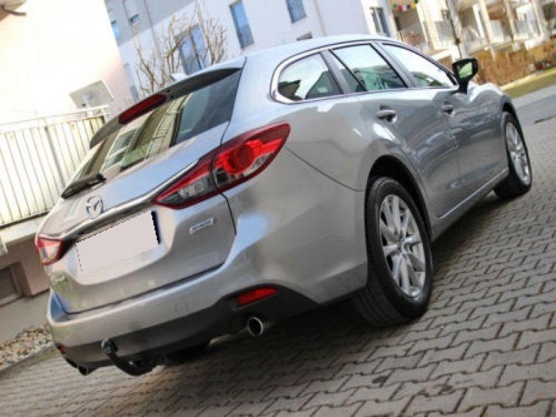 Mazda Mazda 6 Wagon 2.2 SkyActiv-D 150 Gris occasion à Beaupuy - photo n°2