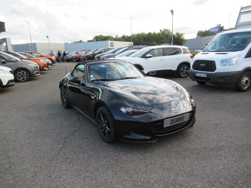 Mazda MX-5 1.5 SKYACTIV-G 131 DYNAMIQUE Noir occasion à Labège - photo n°5