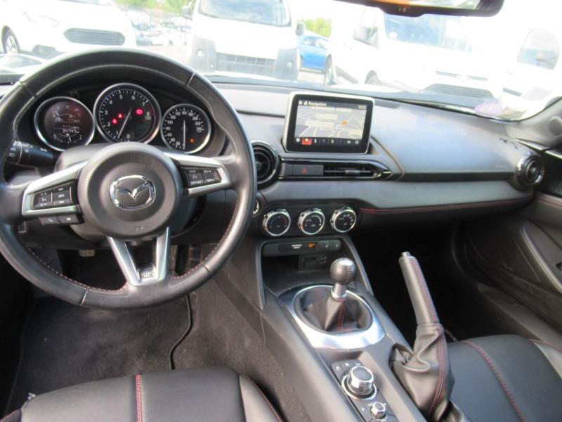Mazda MX-5 1.5 SKYACTIV-G 131 DYNAMIQUE Noir occasion à Labège - photo n°3