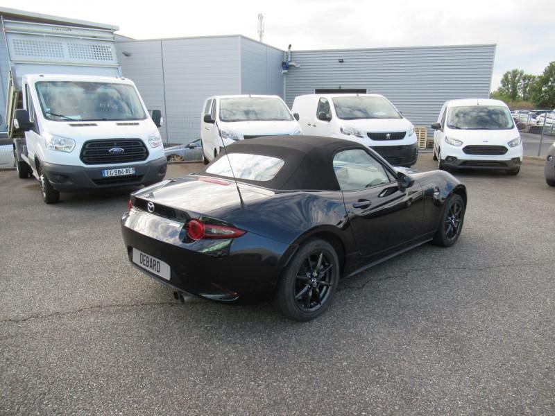 Mazda MX-5 1.5 SKYACTIV-G 131 DYNAMIQUE Noir occasion à Labège - photo n°7