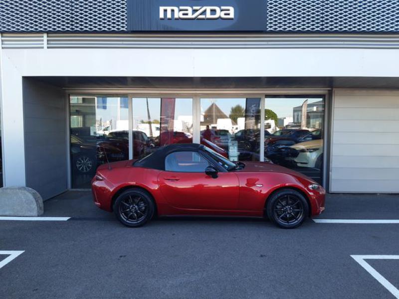 Mazda MX-5 1.5 SKYACTIV-G 131 Sélection Rouge occasion à Cesson-Sévigné - photo n°6