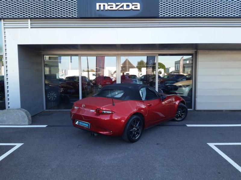 Mazda MX-5 1.5 SKYACTIV-G 131 Sélection Rouge occasion à Cesson-Sévigné - photo n°4