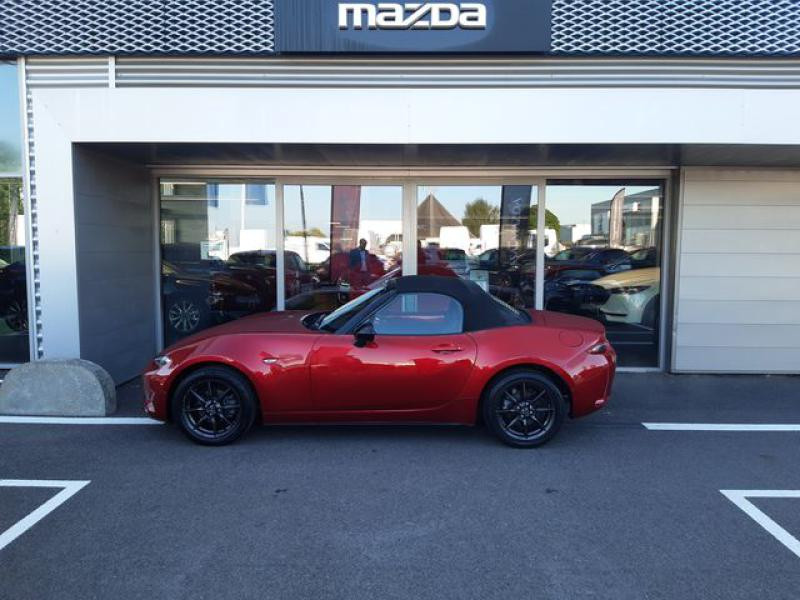 Mazda MX-5 1.5 SKYACTIV-G 131 Sélection Rouge occasion à Cesson-Sévigné - photo n°5