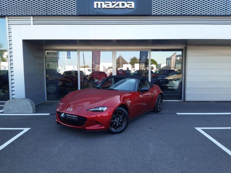 Mazda MX-5 1.5 SKYACTIV-G 131 Sélection Rouge occasion à Cesson-Sévigné