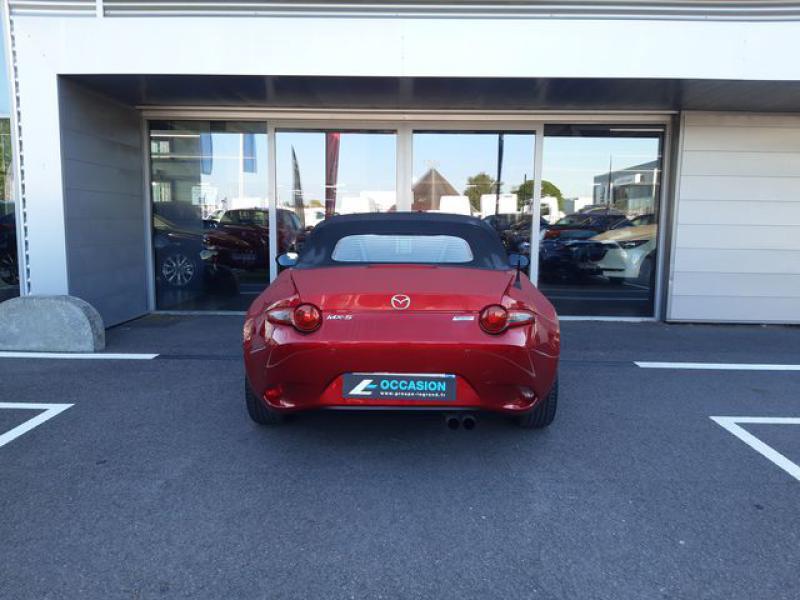 Mazda MX-5 1.5 SKYACTIV-G 131 Sélection Rouge occasion à Cesson-Sévigné - photo n°8