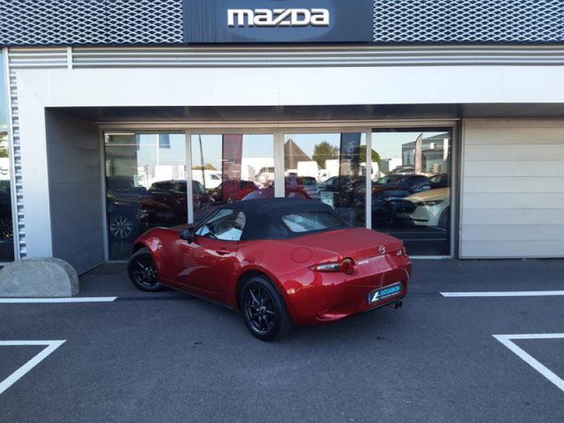 Mazda MX-5 1.5 SKYACTIV-G 131 Sélection Rouge occasion à Cesson-Sévigné - photo n°3