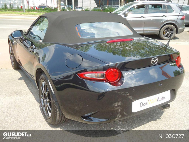 Mazda MX-5 1.5 SKYACTIV-G 132ch Sélection Euro6d-T Evap 2020 Noir occasion à Brie-Comte-Robert - photo n°18