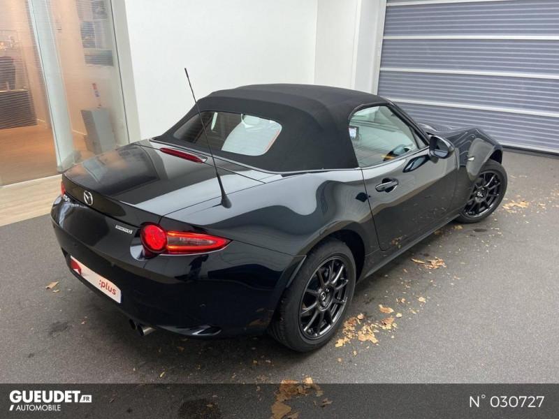 Mazda MX-5 1.5 SKYACTIV-G 132ch Sélection Euro6d-T Evap 2020 Noir occasion à Brie-Comte-Robert - photo n°4