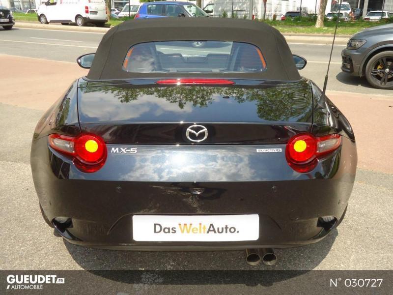 Mazda MX-5 1.5 SKYACTIV-G 132ch Sélection Euro6d-T Evap 2020 Noir occasion à Brie-Comte-Robert - photo n°19
