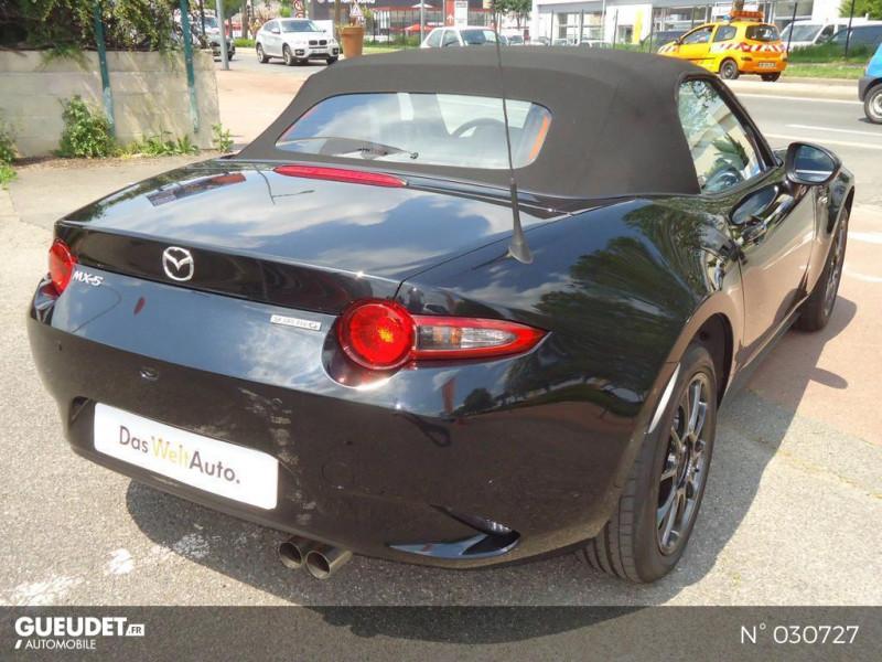 Mazda MX-5 1.5 SKYACTIV-G 132ch Sélection Euro6d-T Evap 2020 Noir occasion à Brie-Comte-Robert - photo n°20
