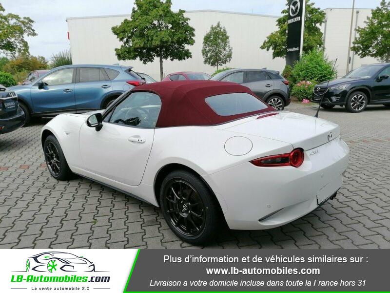 Mazda MX-5 1.5L SKYACTIV-G 131 ch Blanc occasion à Beaupuy - photo n°3