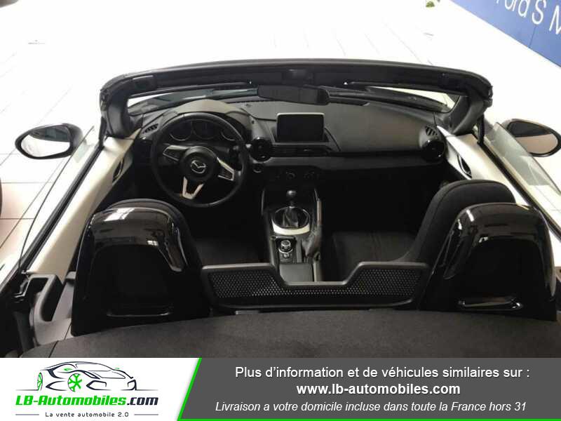 Mazda MX-5 1.5L SKYACTIV-G 131 ch Blanc occasion à Beaupuy - photo n°11