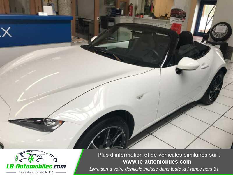 Mazda MX-5 1.5L SKYACTIV-G 131 ch Blanc occasion à Beaupuy - photo n°10