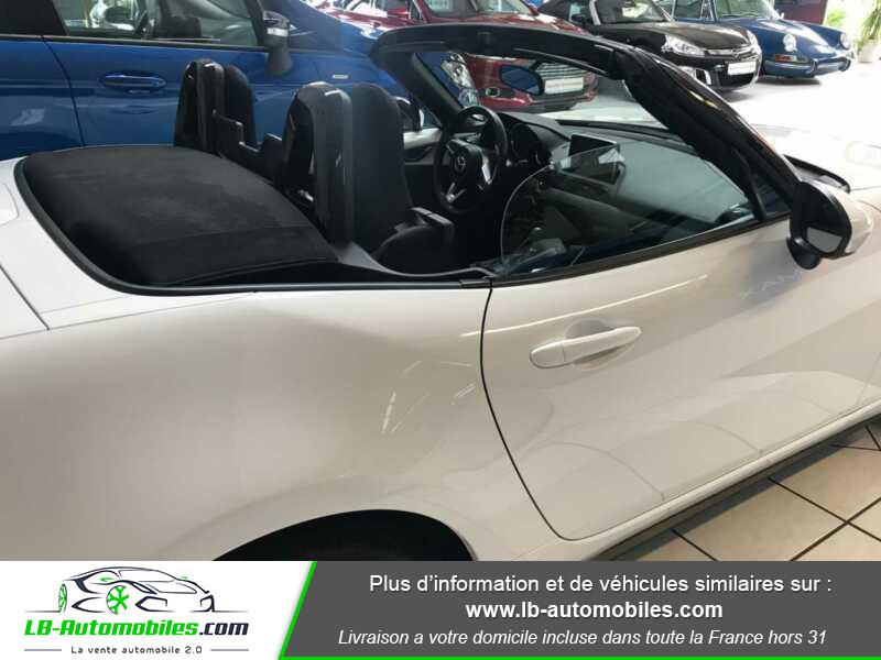Mazda MX-5 1.5L SKYACTIV-G 131 ch Blanc occasion à Beaupuy - photo n°12