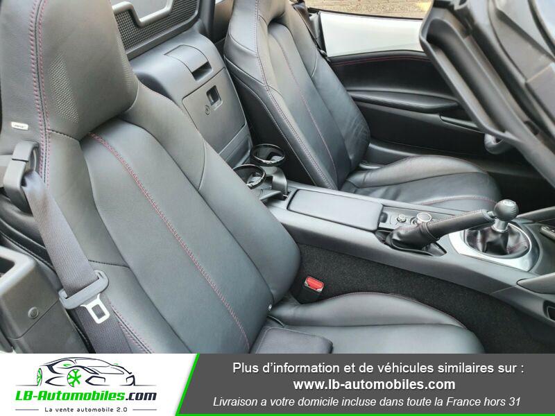 Mazda MX-5 1.5L SKYACTIV-G 131 ch Blanc occasion à Beaupuy - photo n°5