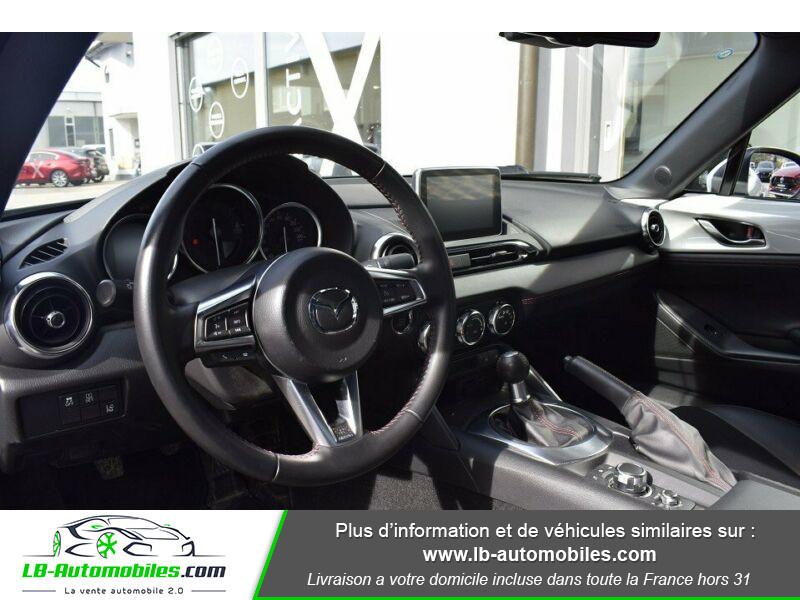 Mazda MX-5 1.5L SKYACTIV-G 131 ch Blanc occasion à Beaupuy - photo n°2