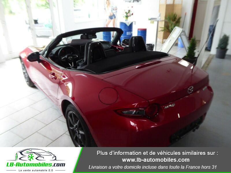 Mazda MX-5 1.5L SKYACTIV-G 131 ch Rouge occasion à Beaupuy - photo n°4
