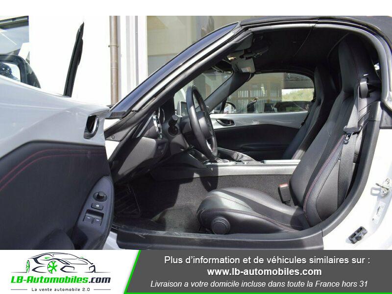 Mazda MX-5 1.5L SKYACTIV-G 131 ch Blanc occasion à Beaupuy - photo n°4
