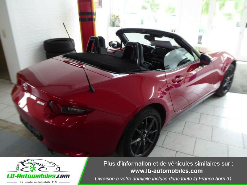 Mazda MX-5 1.5L SKYACTIV-G 131 ch Rouge occasion à Beaupuy - photo n°2