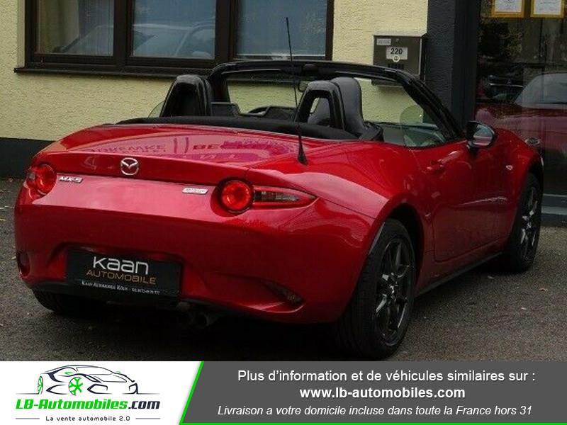 Mazda MX-5 1.5L SKYACTIV-G 131 ch Rouge occasion à Beaupuy - photo n°3