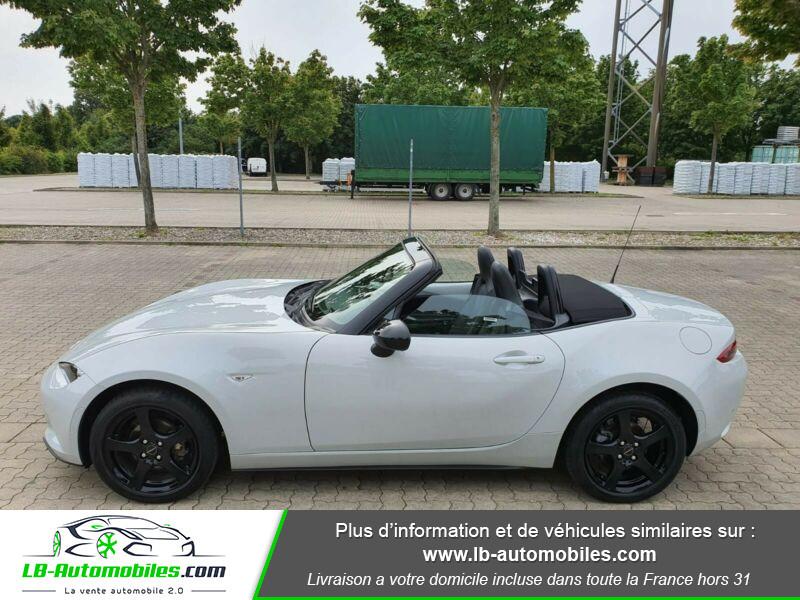 Mazda MX-5 1.5L SKYACTIV-G 131 ch Blanc occasion à Beaupuy - photo n°6