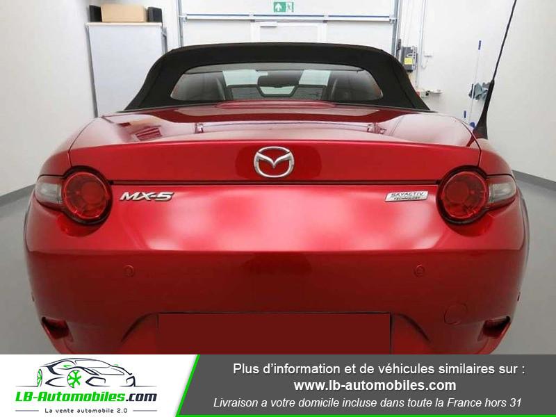 Mazda MX-5 1.5L SKYACTIV-G 131 ch Rouge occasion à Beaupuy - photo n°9