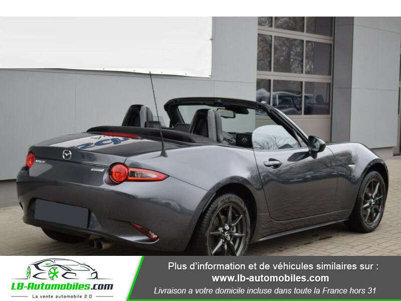 Mazda MX-5 1.5L SKYACTIV-G 131 ch Gris occasion à Beaupuy - photo n°3