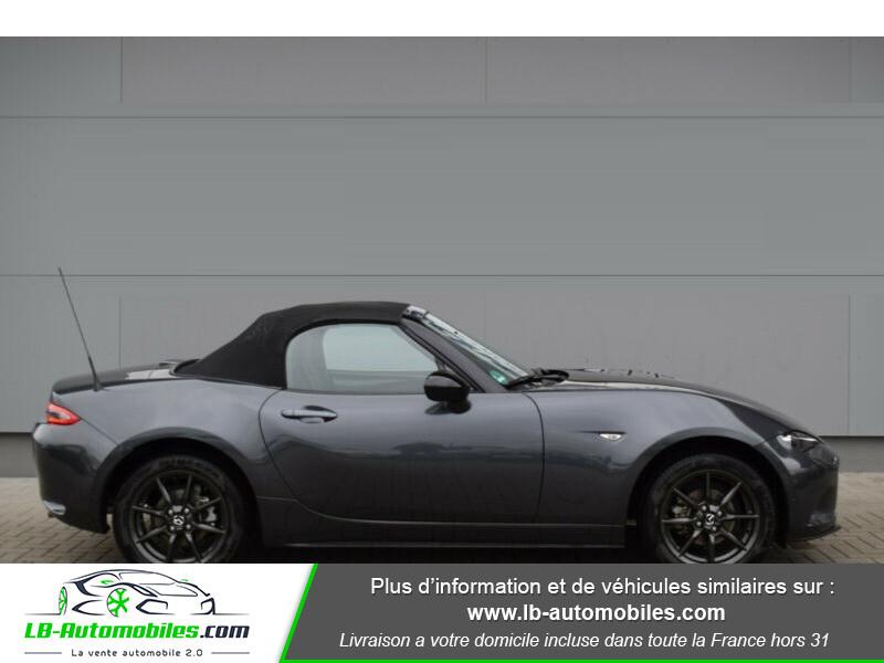 Mazda MX-5 1.5L SKYACTIV-G 131 ch Gris occasion à Beaupuy - photo n°6