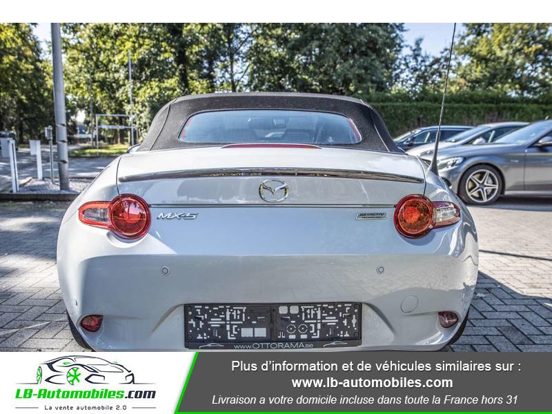 Mazda MX-5 1.5L SKYACTIV-G 131 ch Blanc occasion à Beaupuy - photo n°9
