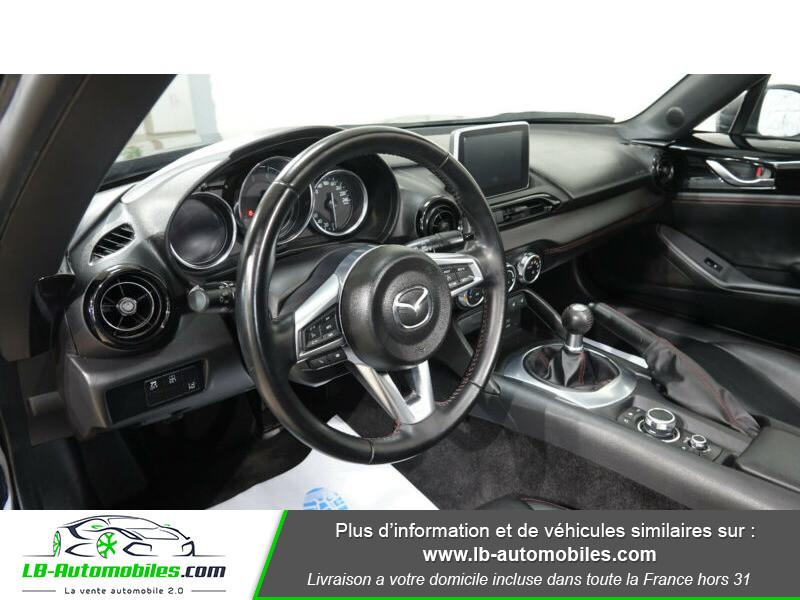 Mazda MX-5 1.5L SKYACTIV-G 131 ch Noir occasion à Beaupuy - photo n°4