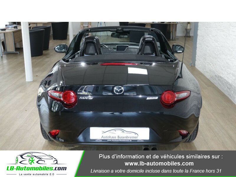 Mazda MX-5 1.5L SKYACTIV-G 131 ch Noir occasion à Beaupuy - photo n°10