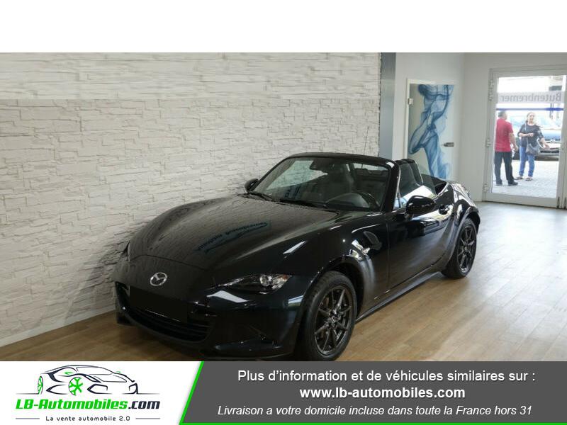 Mazda MX-5 1.5L SKYACTIV-G 131 ch Noir occasion à Beaupuy