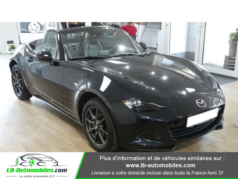 Mazda MX-5 1.5L SKYACTIV-G 131 ch Noir occasion à Beaupuy - photo n°9