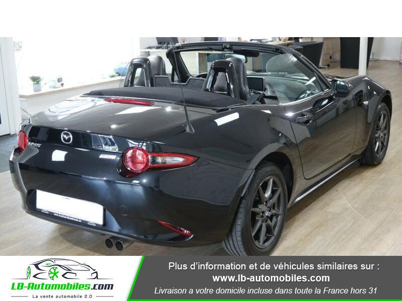 Mazda MX-5 1.5L SKYACTIV-G 131 ch Noir occasion à Beaupuy - photo n°3