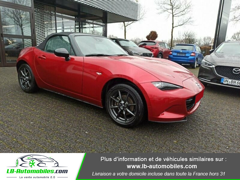 Mazda MX-5 1.5L SKYACTIV-G 131 ch Rouge occasion à Beaupuy - photo n°7