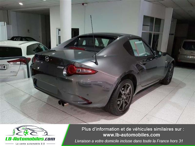 Mazda MX-5 1.5L SKYACTIV-G 132 ch Gris occasion à Beaupuy - photo n°2