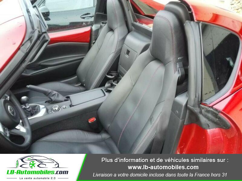Mazda MX-5 1.5L SKYACTIV-G 132 ch Rouge occasion à Beaupuy - photo n°3
