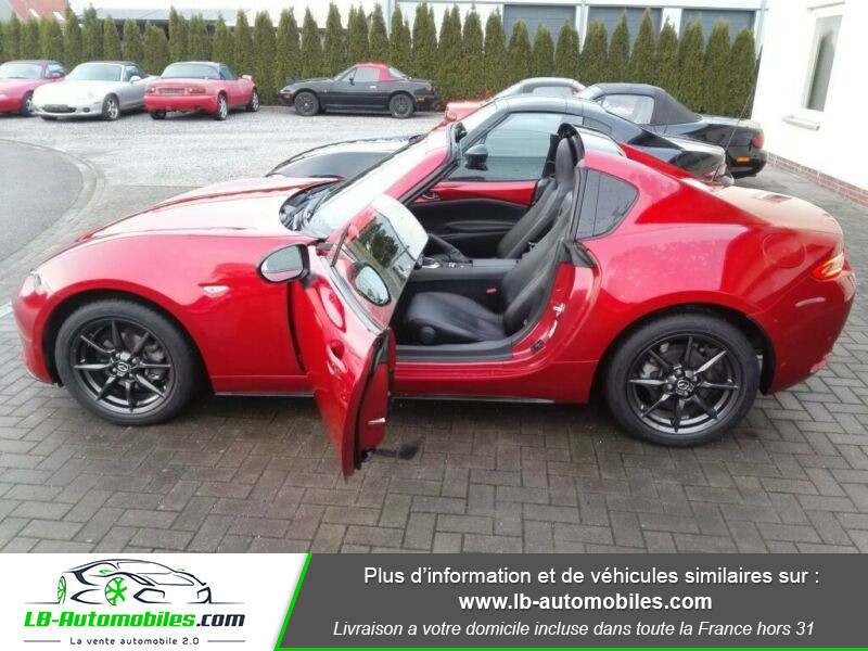 Mazda MX-5 1.5L SKYACTIV-G 132 ch Rouge occasion à Beaupuy - photo n°8