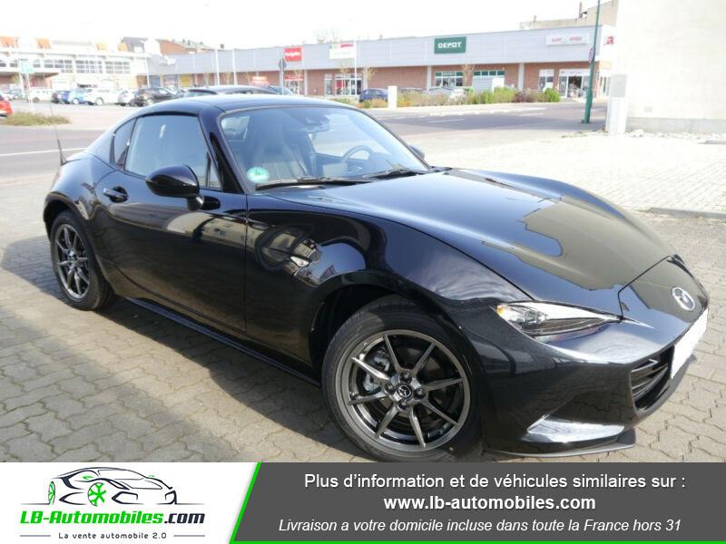 Mazda MX-5 1.5L SKYACTIV-G 132 ch Noir occasion à Beaupuy - photo n°4