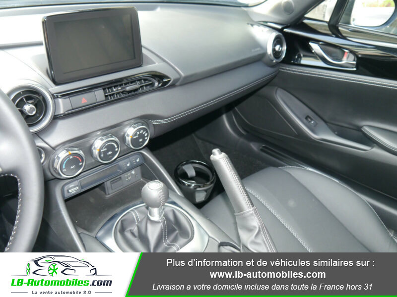 Mazda MX-5 1.5L SKYACTIV-G 132 ch Noir occasion à Beaupuy - photo n°5
