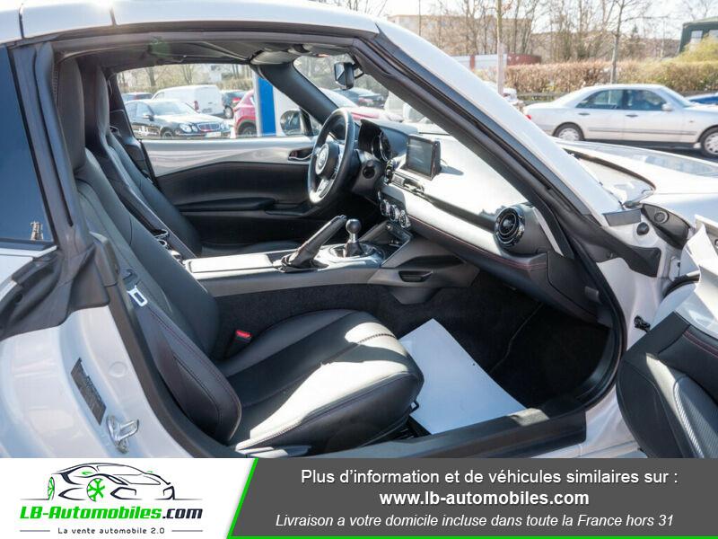 Mazda MX-5 1.5L SKYACTIV-G 132 ch Blanc occasion à Beaupuy - photo n°2