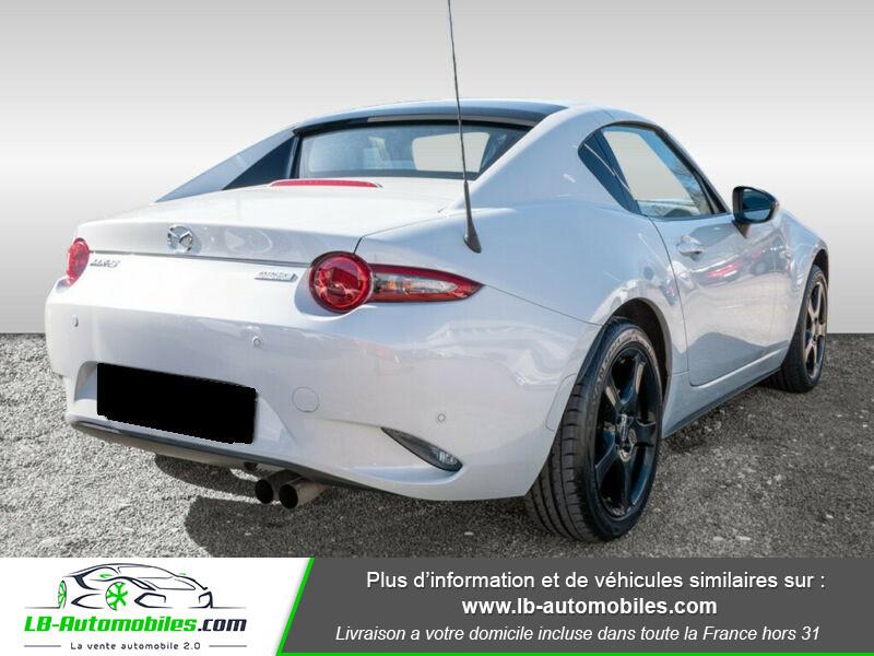 Mazda MX-5 1.5L SKYACTIV-G 132 ch Blanc occasion à Beaupuy - photo n°3