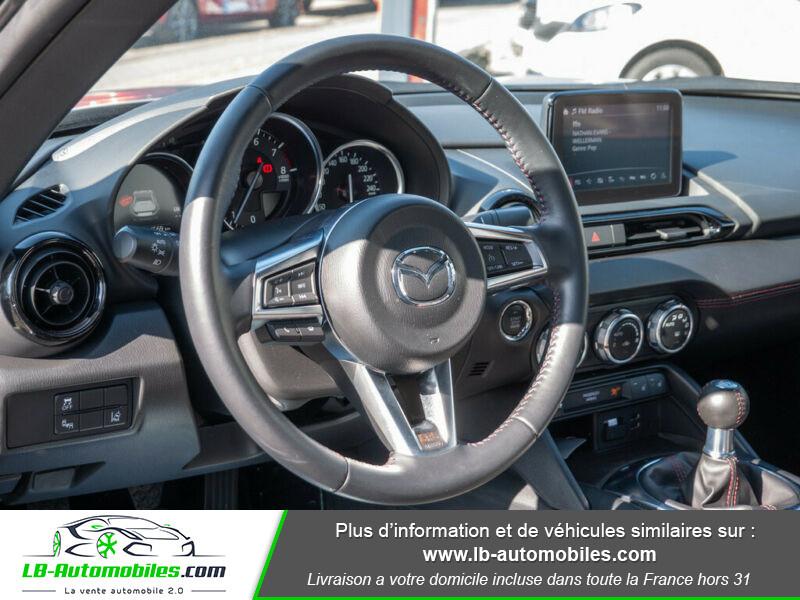 Mazda MX-5 1.5L SKYACTIV-G 132 ch Blanc occasion à Beaupuy - photo n°8